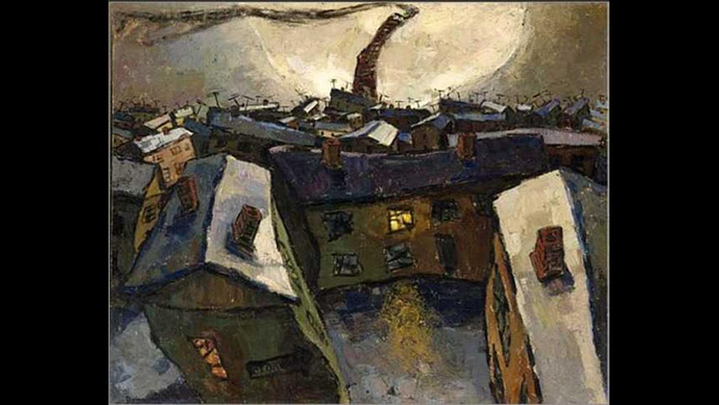 «Город и луна (Социалистический город)». 1959 г.