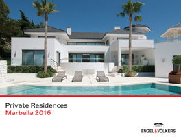 Private Residences Marbella 2016