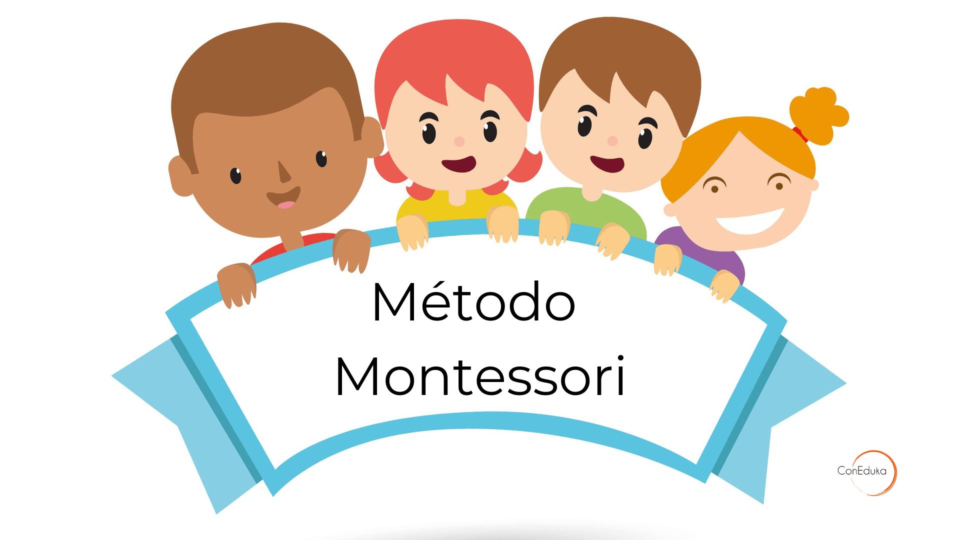 método montessori para niños