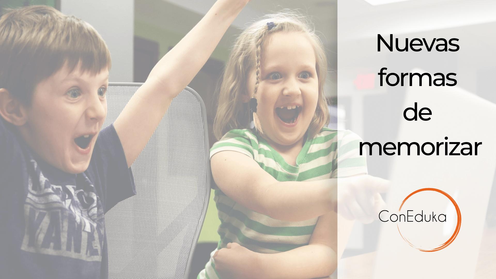 potenciar la memoria en niños