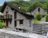 Ascona - Luxurious stone house with rustico guest house