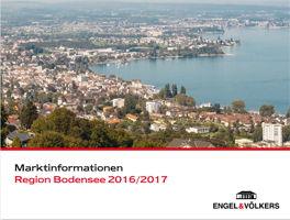 Marktinformationen Bodensee 2016/2017