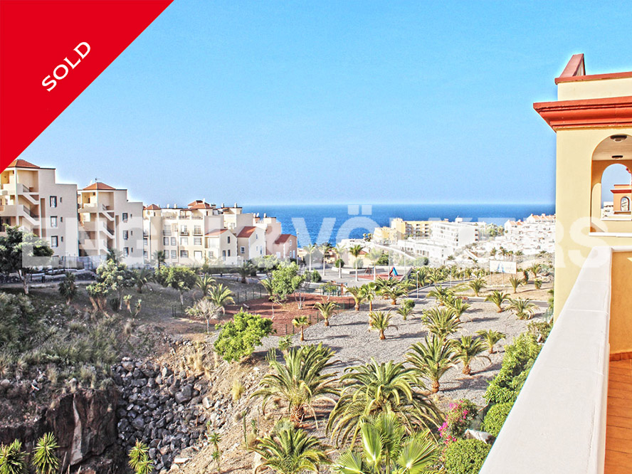 Costa Adeje - SOLD! Penthouse with sea views in Callao Salvaje, Tenerife South - Apartments in Tenerife