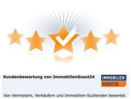 Unsere Kundenbewertungen auf ImmobilienScout24