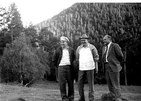 Михаил Горбачев и Юрий Андропов на отдыхе в Ставропольском крае, 1978 / Горбачев-Фонд