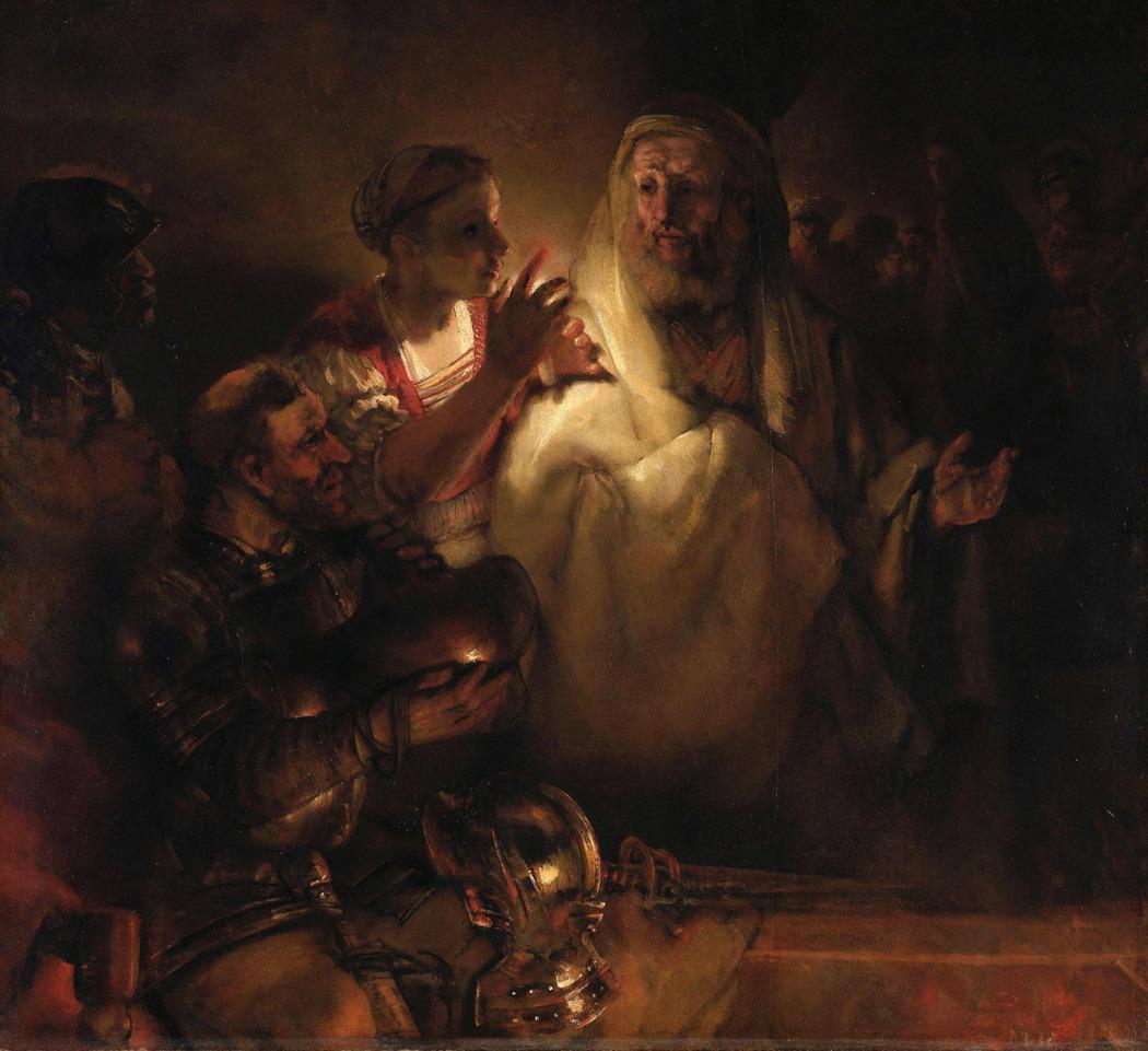 «Отречение Петра» Рембрандта продано Городскому музею Амстердама (Нидерланды)