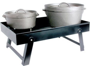 Adjust-A-Grill Dutch Oven Table