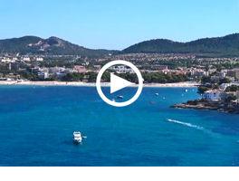 Mallorcas Südwesten von oben