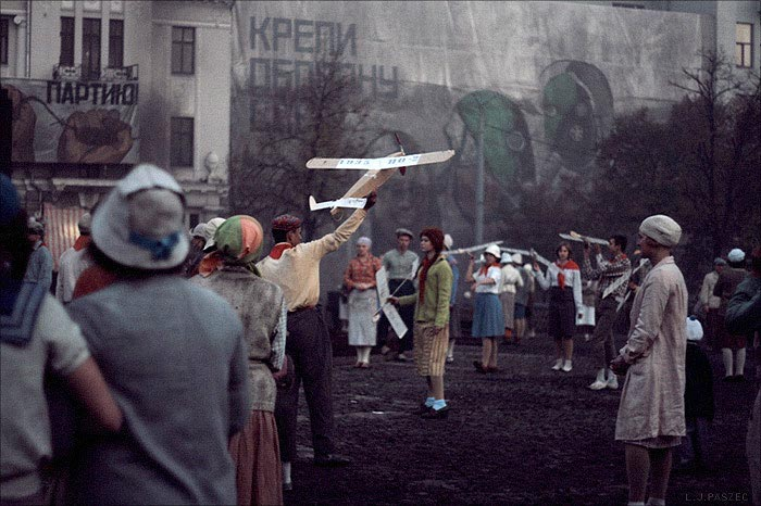 Кадр из фильма «Дау» (реж. Илья Хржановский, 2010 г.)