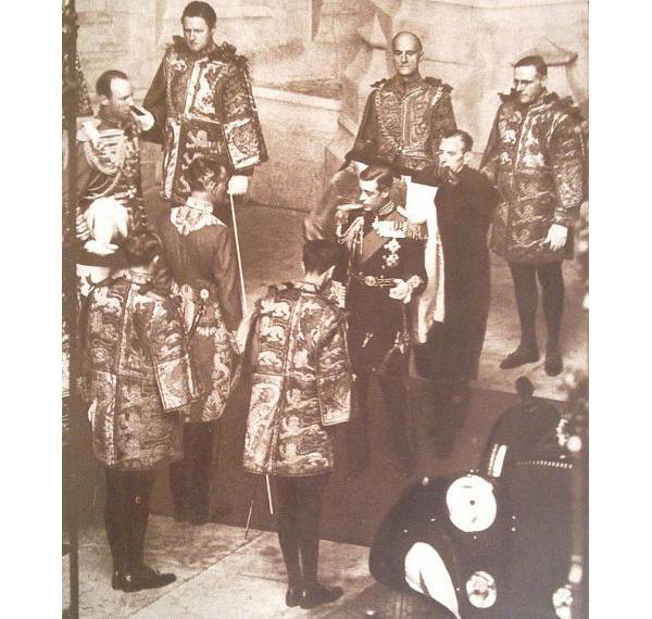 Король Эдуард Восьмой открывает сессию парламента. 1936 / Wikimedia Commons