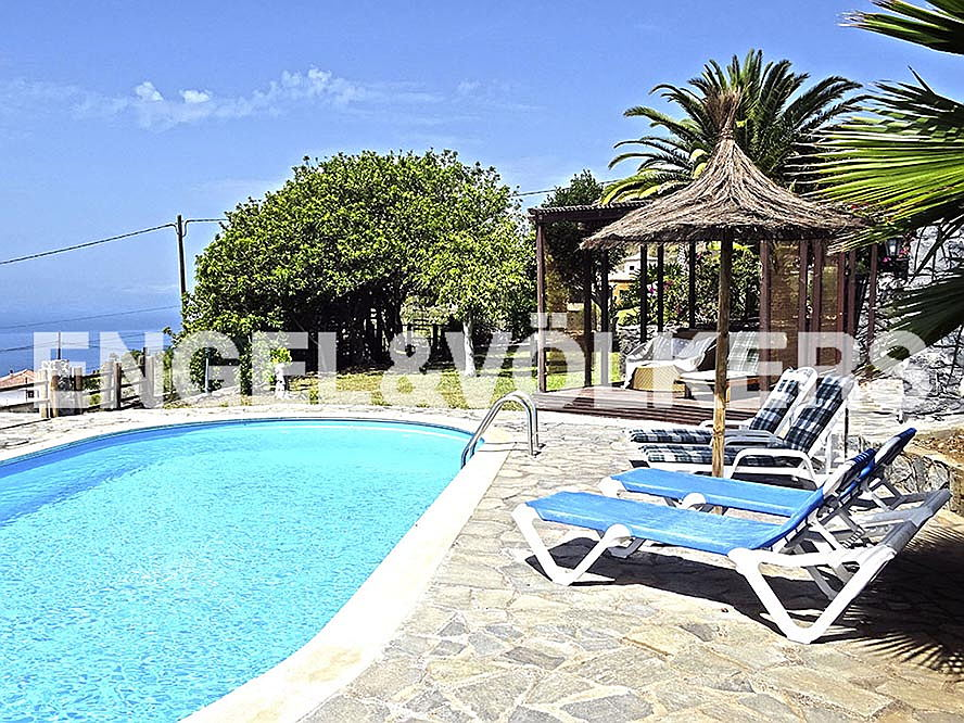 Costa Adeje - Charming Finca with private pool and sea views in Las Moraditas, Adeje, Tenerife South