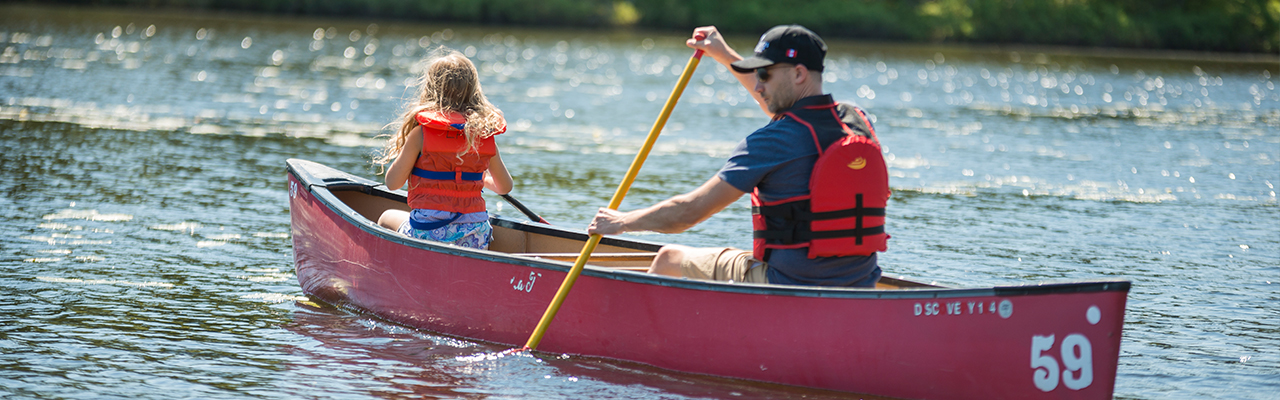 Hamburg - There are many leasure activities in the Forest Lakes Country Club, Nova Scotia, Canada, like canoeing on the lake.jpg